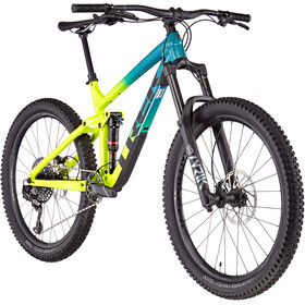 Trek Remedy 8 27.5 teal to volt fade
